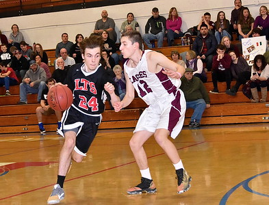 LTS Boys Varsity Basketball vs Arlington photos by Gary Baker