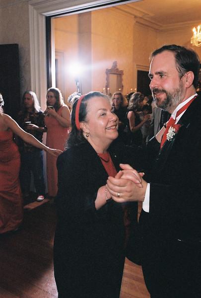 Bob dances with his mom
