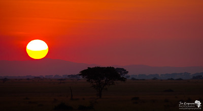 Sunrise in Uganda