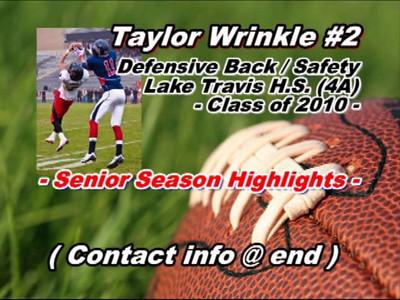 Taylor Wrinkle Highlight Video
