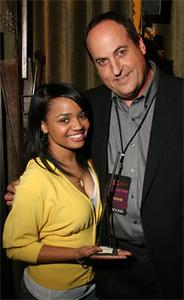 Kyla Pratt with Jeff Owen