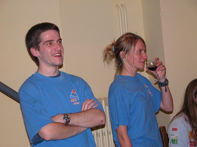 2002-2003 - Activiteit - Kaas & Wijnavond (2002-10-12)