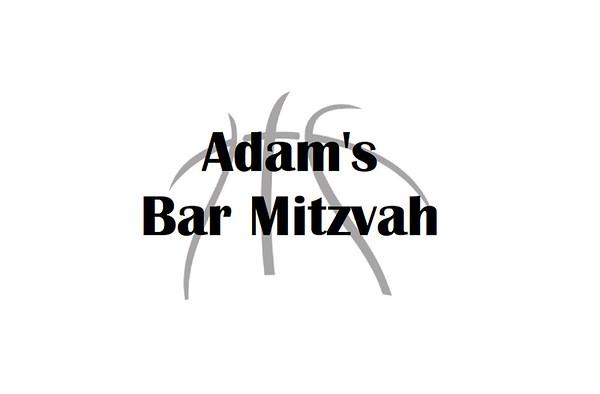 Adam's Bar Mitzvah