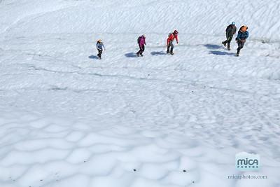 Ice Climbing with Brett