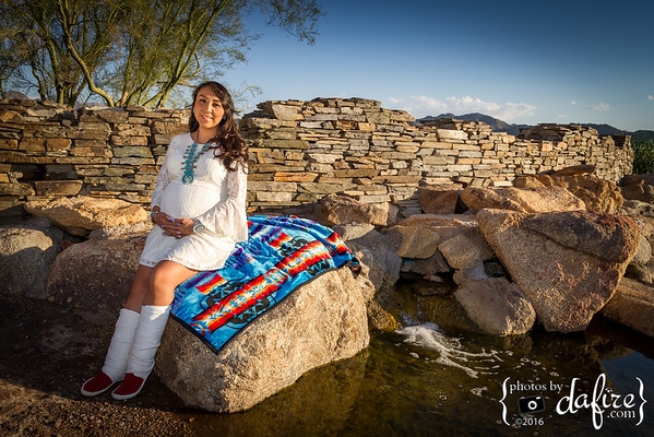 Native American Portraits (Family/Single)