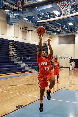 Girls JV Basketball v Yorktown 1/13/15