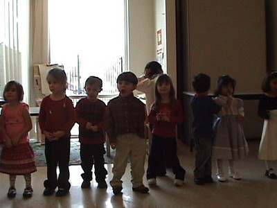 Kailin's preschool Christmas show