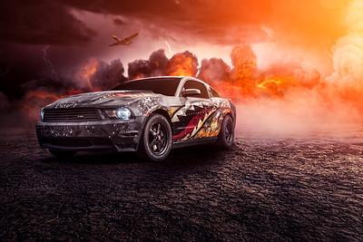 Wingstop LPF Mustang