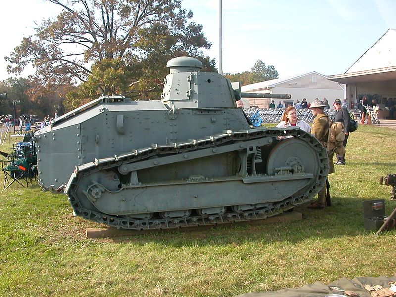 WWi Tank - 1917 Ford
