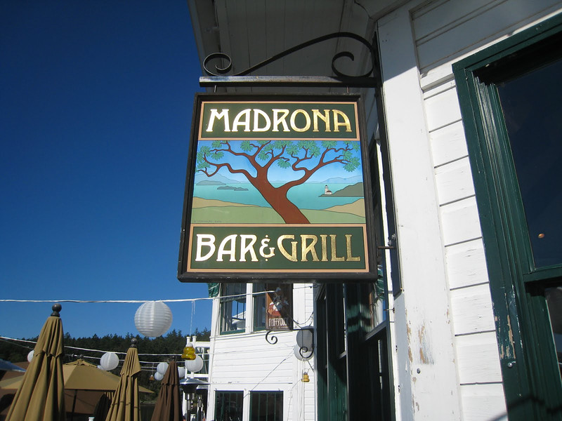 Pub Lunch - Day 9Madronna Bar & GrillRoche Harbor, San Juan Island
