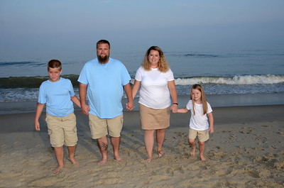 Sulkowski Family Beach Portraits Aug. 20, 2019