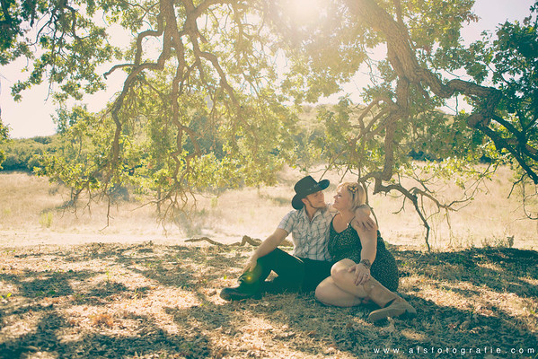 Candace + Dean | Paramount Ranch Engagement