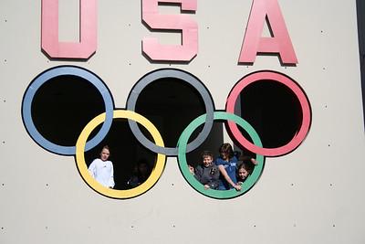 Falfins Meet at Olympic Center