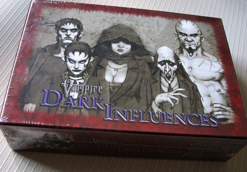 Vampire: Dark Influences cardgame
