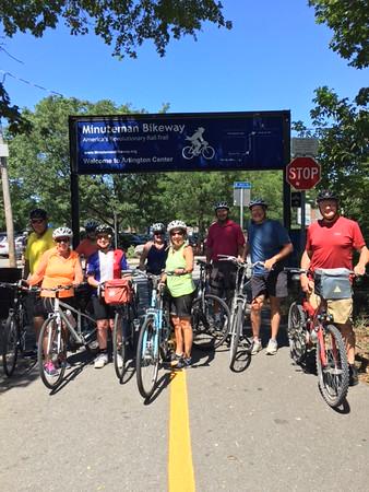 August 18 Rail Trail Ride