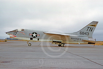 US Marine Corps Vought RF-8 Crusader Military Airplane Pictures