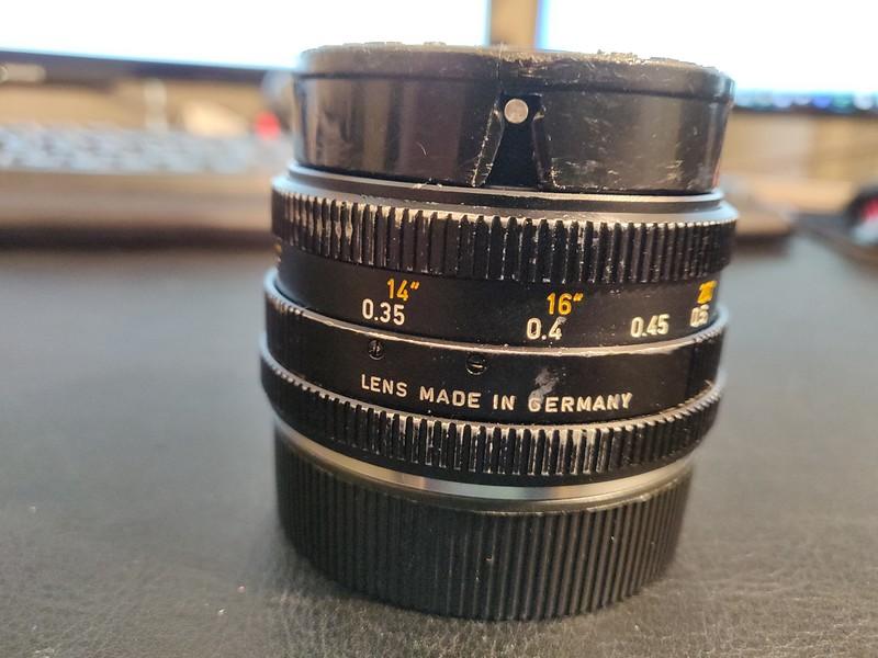 Leica 28mm 2.8 Elmarit-R I - Serial 3271316 003.jpg