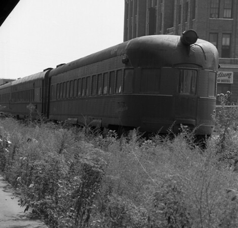 Stored GM&O Equipment at St. Louis Union Station (1973)