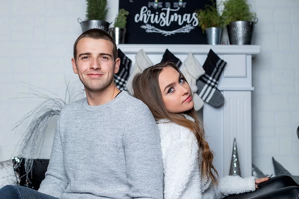 Вики и Георги Коледа 2019