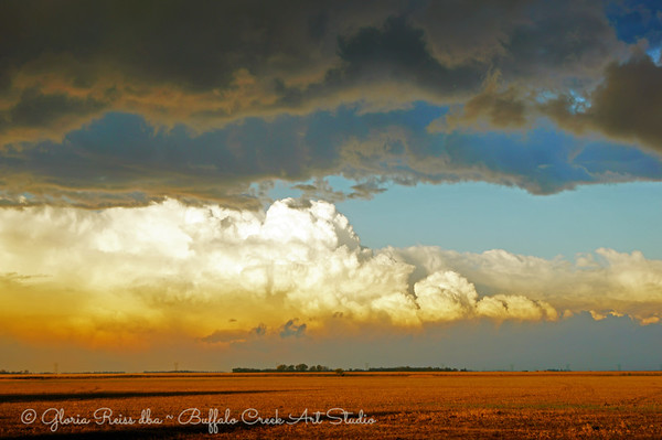 Growing Thunderheads in October