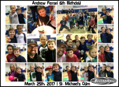 MARCH 25TH, 2017 | Andrew Ferrari 6th Birthday
