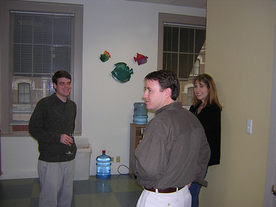 Blue Fish Holiday Dinner Feb 11, 2004