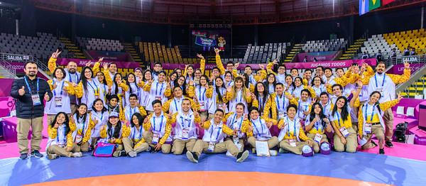 PAN AM GAMES STAFF