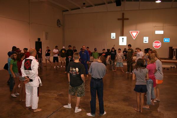 Seminar at New Song Church Camp 6.15.2006