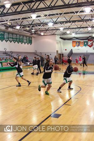 20140211 - CF Girls Basketball vs Loudonville - Senior Night