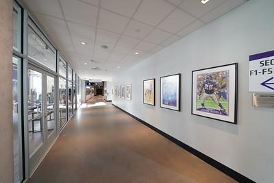 Corridor from Pentair to Delta Escalator