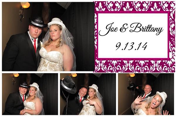 Brittany & Joe Wedding PhotoBooth