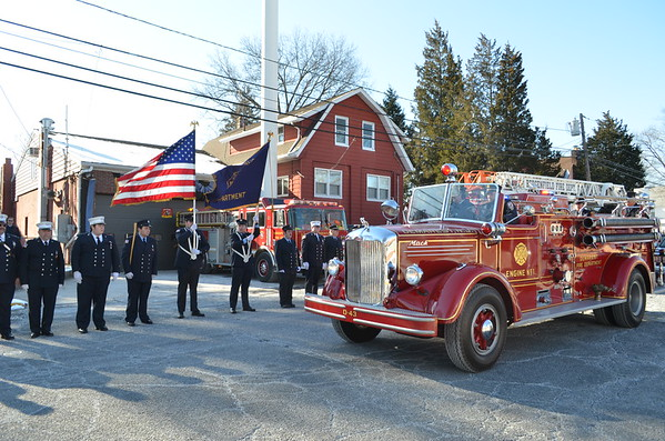 Bergenfield, NJ Former Fire Chief Martin D. Fullgrabe