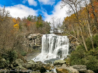 Whitewater & Corbin Creek Falls North Carolina 11-11-17