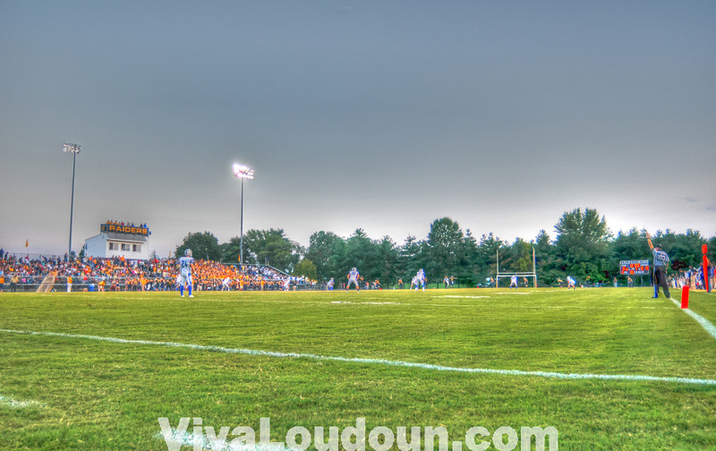 Opening kickoff. Photos copyright Chas Sumser 2012