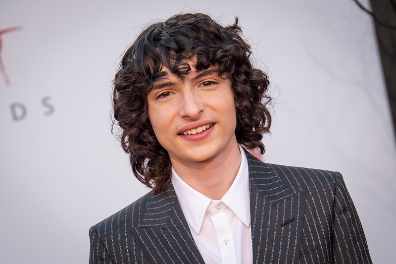 "WESTWOOD, CA - AUGUST 26: Finn Wolfhard attends the Premiere Of Warner Bros. Pictures' ""It Chapter Two"" at Regency Village Theatre on Monday, August 26, 2019 in Westwood, California. (Photo by Tom Sorensen/Moovieboy Pictures)"