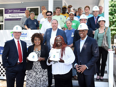 City recognizes work of Habitat for Humanity. 5/24/2018