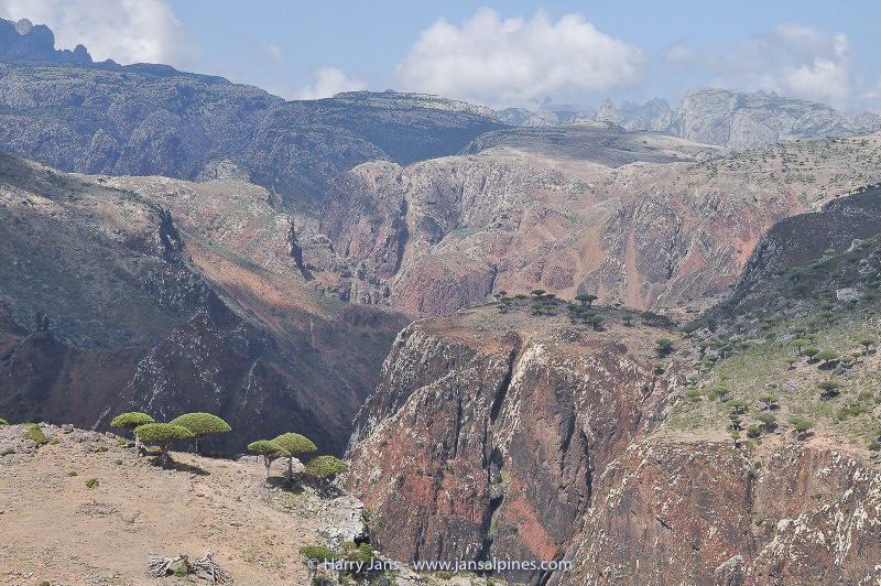 Dixsam plateau and view toward Firmihin