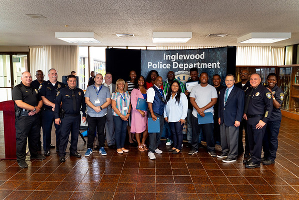 20190611 -  Inglewood PD Community Volunteer Ceremony