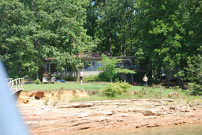 Trip with Mississippi Cousins in Alabama -- July 2007