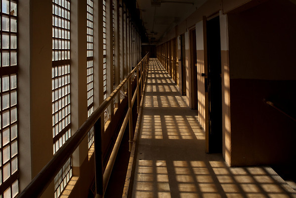 Old Main Tour New Mexico State Penitentiary Santa FE NM