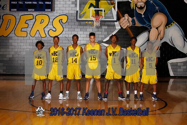 2016-2017 Boys JV basketball