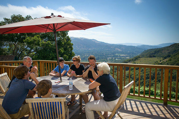 Kristin, Scott and Kids (Family Photography) @ Private Estate, Carmel Valley, California