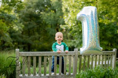 Caleb at 1 year