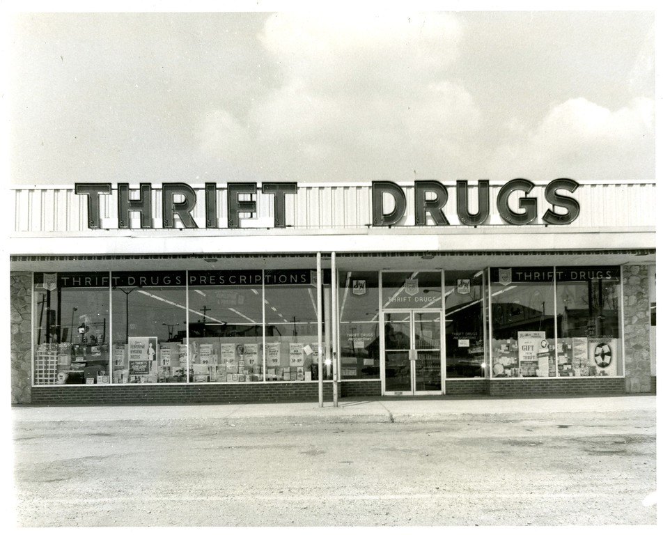 . This photo from the Historical Society of Montgomery County shows Thrift Drugs in Logan Square (now Norristown Centre) in 1970. The photo was taken by Jules Marsella.