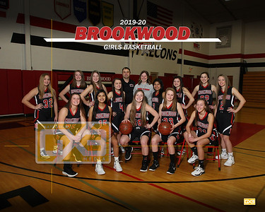 Brookwood girls basketball GBB1920