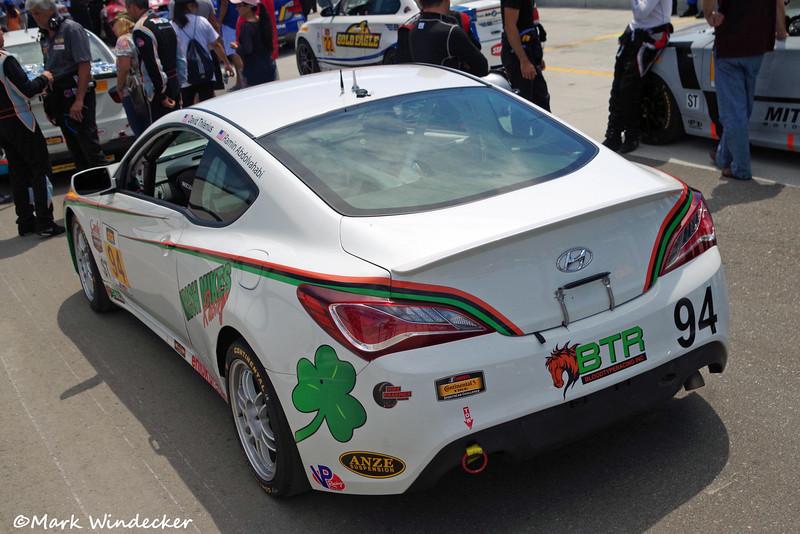 ST Irish Mike's Racing Hyundai Genesis Coupe