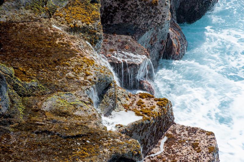 Ocean Meets Cliff