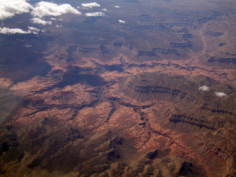 Jumpup Point, Grand Canyon. 9 Apr 2007.