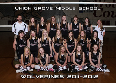 UGMS Volleyball T&I 3-7-2012