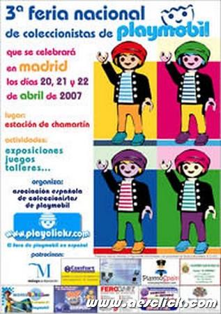 3º Feria Nacional de Coleccionistas de Playmobil